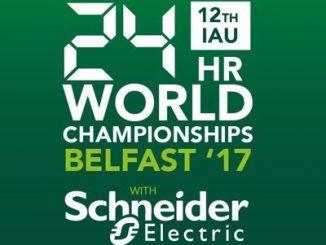 IAU 24 hour world and euripean championships belfast 2017