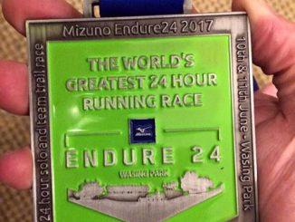 Endure24 medal