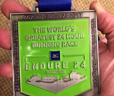 Endure24 medal