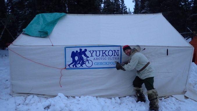 Yukon Arctic Ultra checkpoint