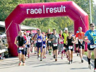 Brugg 24 hour race start