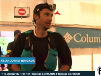 Kilian Jornet Burgada Ultra Trail Mont Blanc 2017