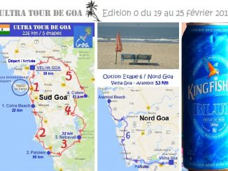 Ultra tour of Goa map
