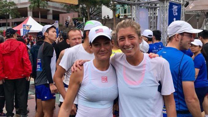 Katalin Nagy and Courtney Dewalter