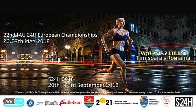 22nd IAU 24 Hour European Championships 2018
