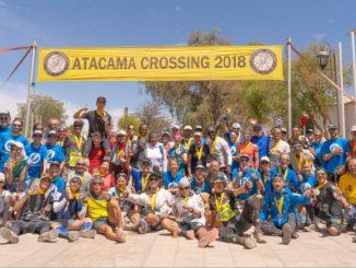 Atacama crossing finish line