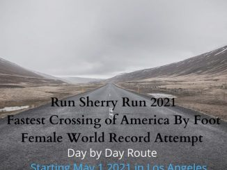 Sherry Meador Trans America record attempt